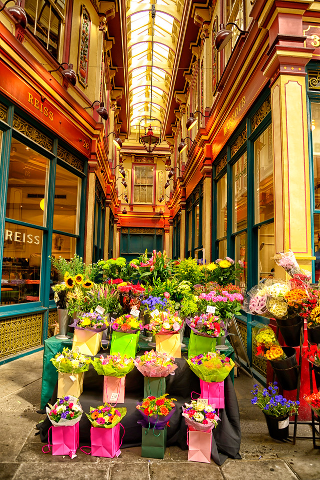 Leadenhall Market Flowers